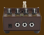 Brown Dog gated bass fuzz back view