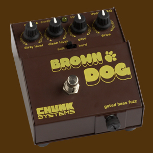 Brown Dog gated bass fuzz
