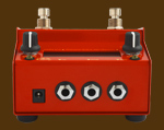 Octavius Squeezer analog bass synth back view