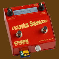 Octavius Squeezer analog bass synth